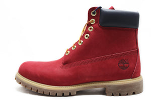 "TIMBERLAND Premium 6"" Boot ""Red/Navy"""