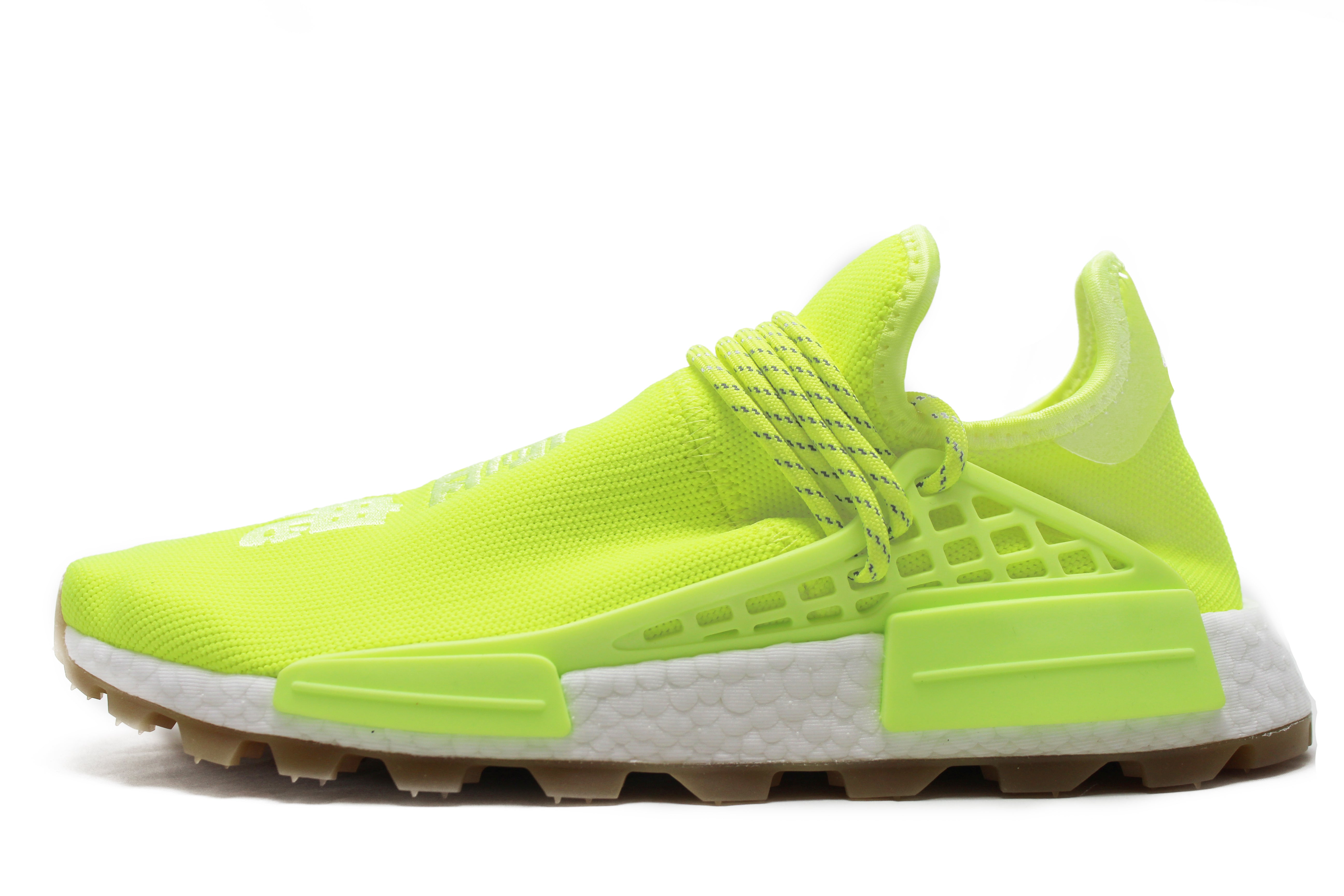 "Pharrell x Adidas NMD PRD HU ""Now Is Her Time"" Solar Yellow"