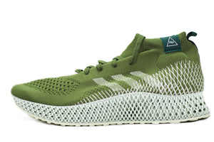 Pharrell x Adidas 4D Runner Tech Olive