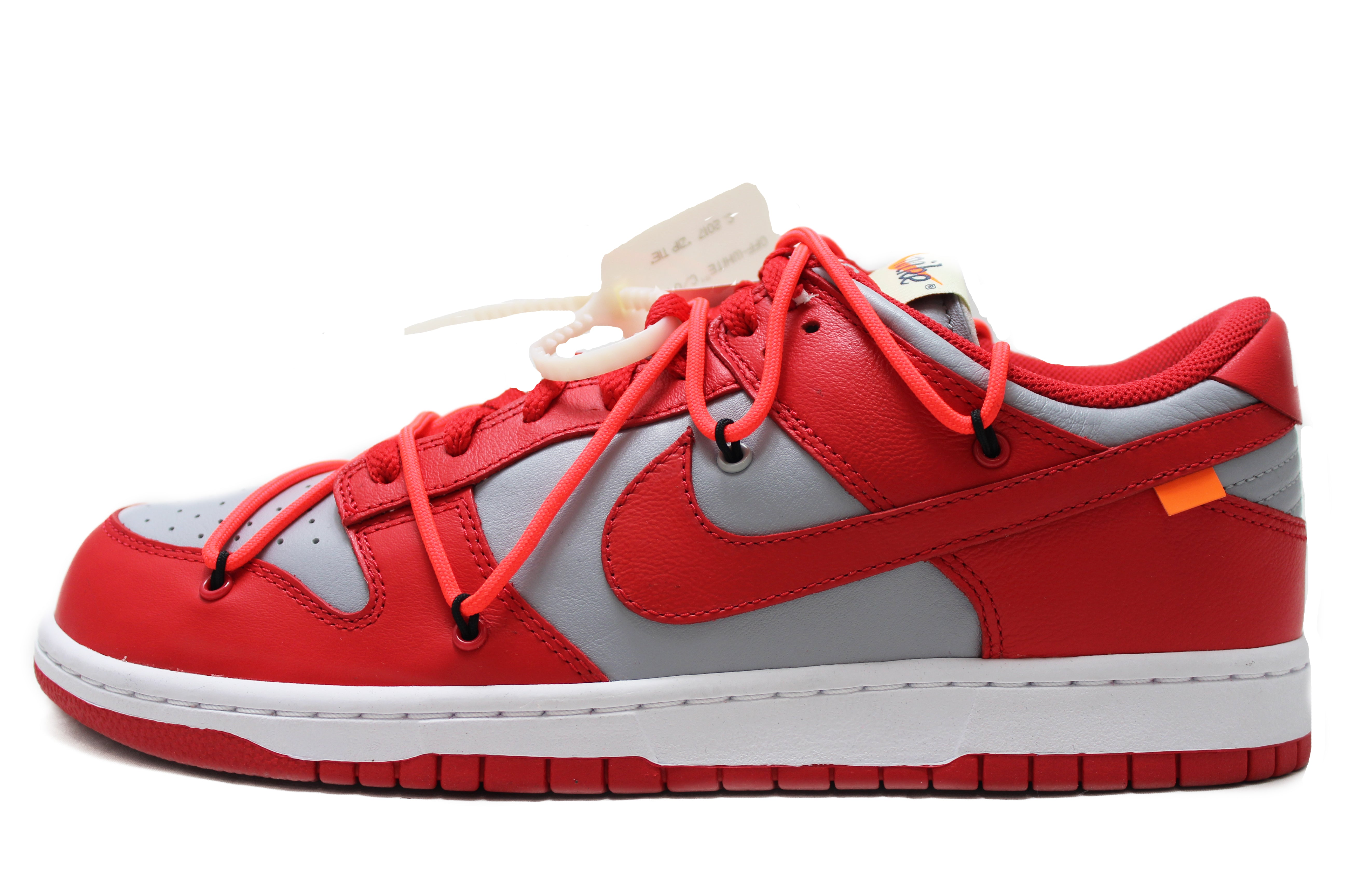 "OFF-WHITE x Dunk Low Off-White ""University Red"""