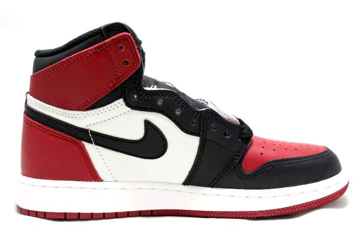 "Air Jordan 1 Retro GS ""Bred Toe"""