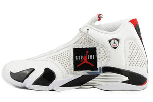 Supreme x Air Jordan 14 Retro WHITE