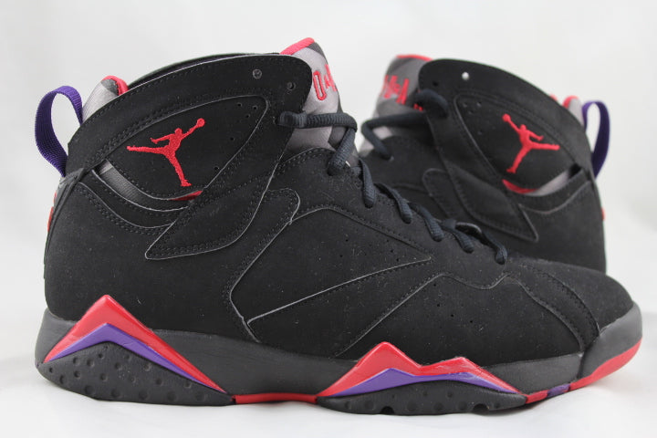"Air Jordan 7 Retro ""Raptors"" Size 9.5 PRE-OWNED*"