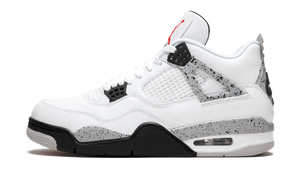 "Air Jordan Retro 4 ""WHITE CEMENT""  PRE OWNED (RP BOX)"