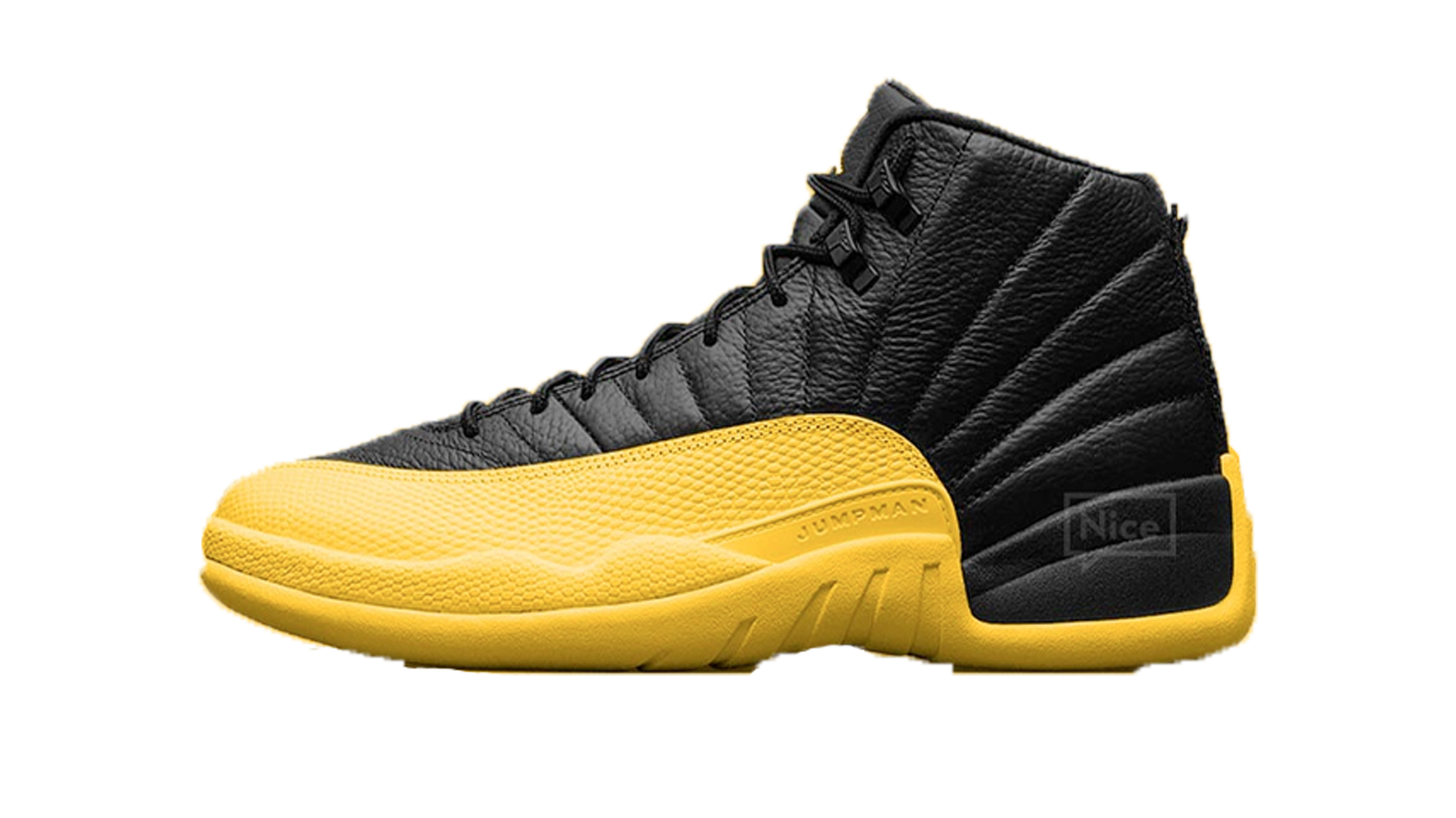 Air Jordan 12 Black University Gold GS/MENS