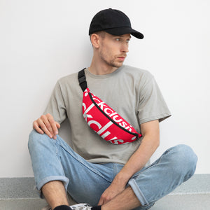 Kickclusive red Fanny Pack