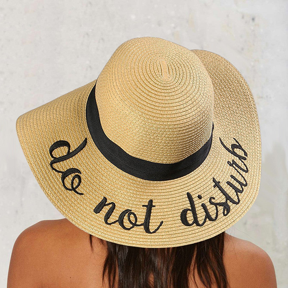 926ff8d681a DO NOT DISTURB SUN HAT – Crowned Queen Clothing