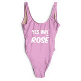 YES WAY ROSE SWIMSUIT