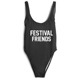 FESTIVAL FRIENDS SWIMSUIT