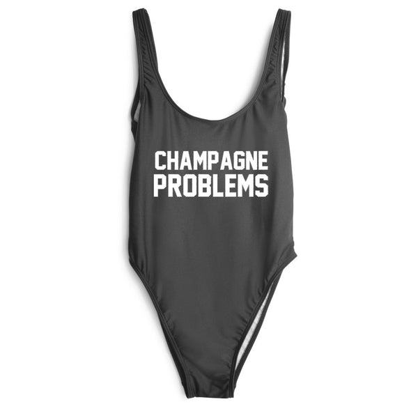 CHAMPAGNE PROBLEMS SWIMSUIT