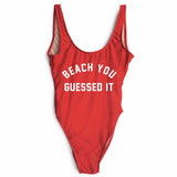 BEACH YOU GUESSED IT SWIMSUIT