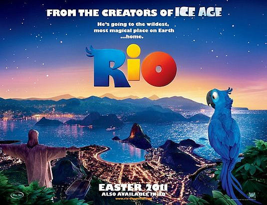 The Movie RIO Opened This Weekend