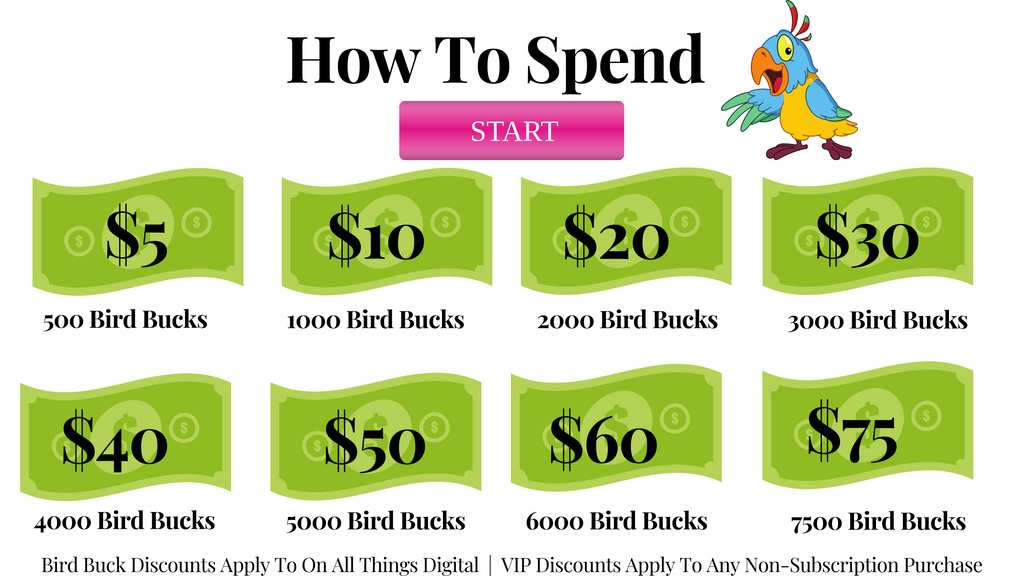 Bird Bucks Rewards | BirdTricks