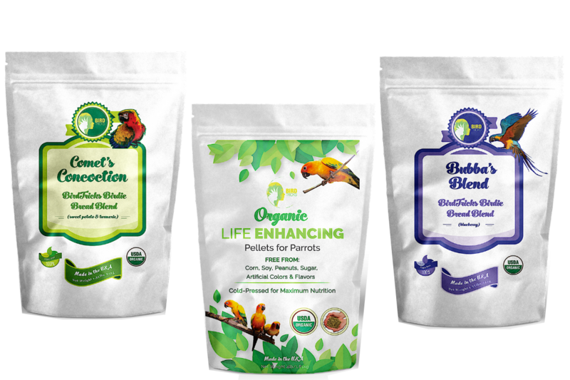The Parrot Natural Nutrition Course - BirdTricksStore