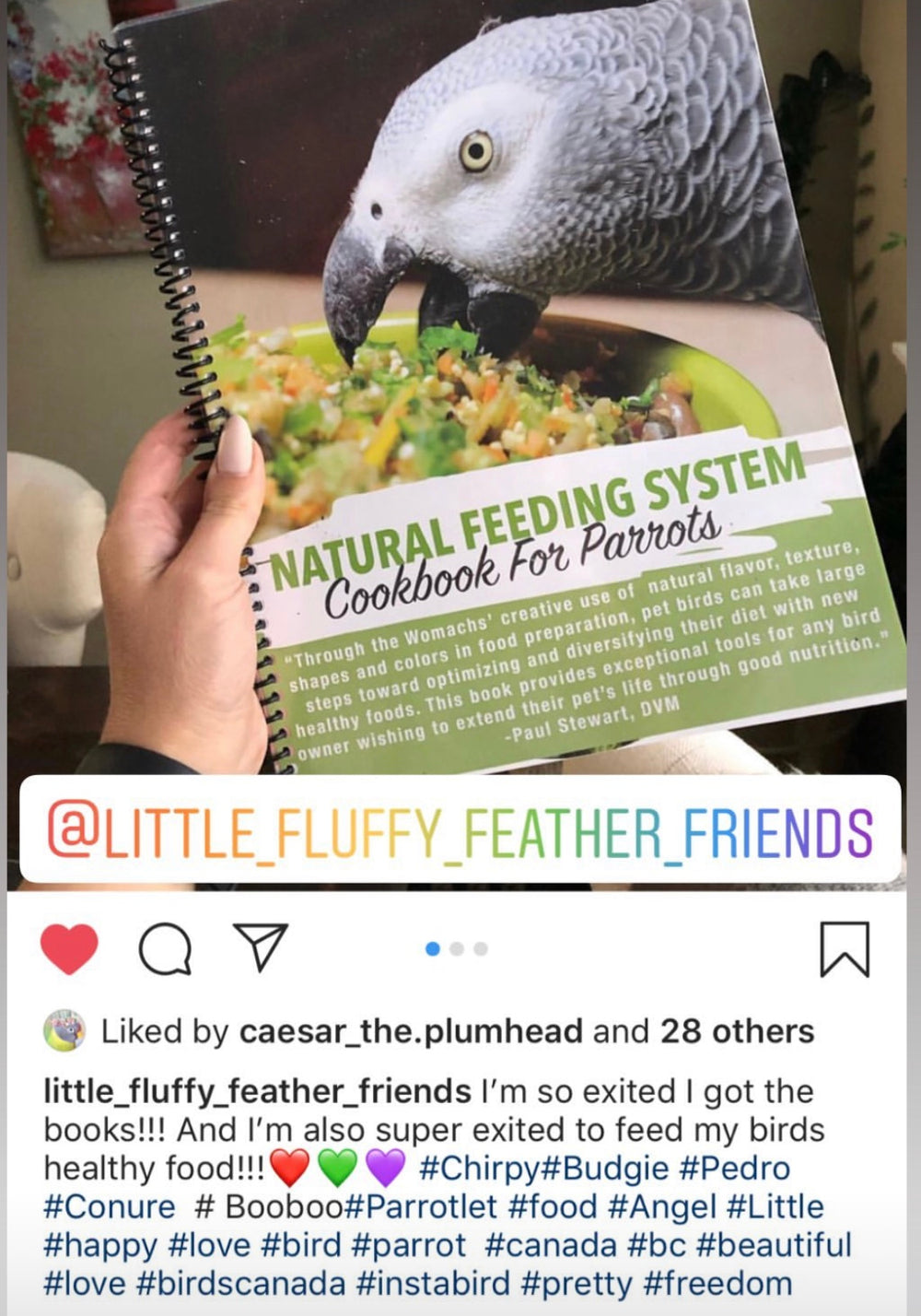 Natural Feeding Nutritional Program in Print - BirdTricksStore