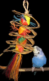 Premium All-Natural Parrot Toys (Bundle of 3)