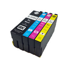1 Set 35XL Replacement Epson Compatible Inks