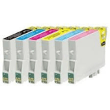Full Set Epson T0481-486  Compatible Ink Cartridges (6 inks)