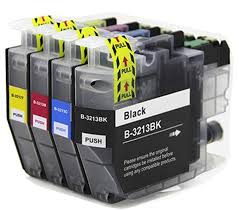 1 Full Set Brother LC3213 Compatible Inks
