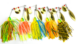 5Pc Spinnerbait Lures - National Fishing Association