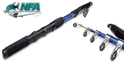 Carbon 2.1m Telescopic Fishing Rod