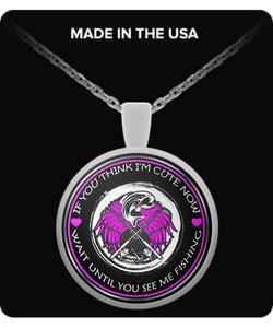 Wait Until You See Me Fishing (NECKLACE) - Limited Edition - National Fishing Association
