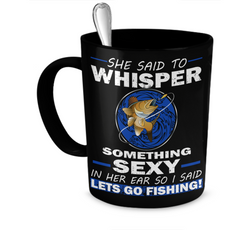 Whisper Something Sexy Blue - Limited Edition - National Fishing Association