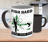 Fish Hard Bend Your Rod (MUG) - Limited Edition - National Fishing Association