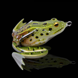 Double Hooked Simulation Frog