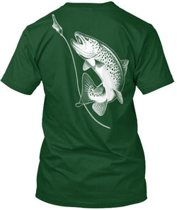 NFA Official Trout Tee And Sticker - National Fishing Association