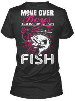 Move Over BOYS! - National Fishing Association