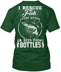 Fish From Water And Beer From Bottles - National Fishing Association