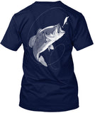 NFA Official Bass Tee And Sticker - National Fishing Association