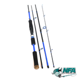 2.1m Blue Carbon Fishing Rod