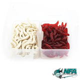 300pc Soft Bait Worms