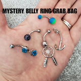 5 Piece Mystery Belly Ring Grab Bag