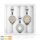 3-Pack Belly Ring Assortment #3