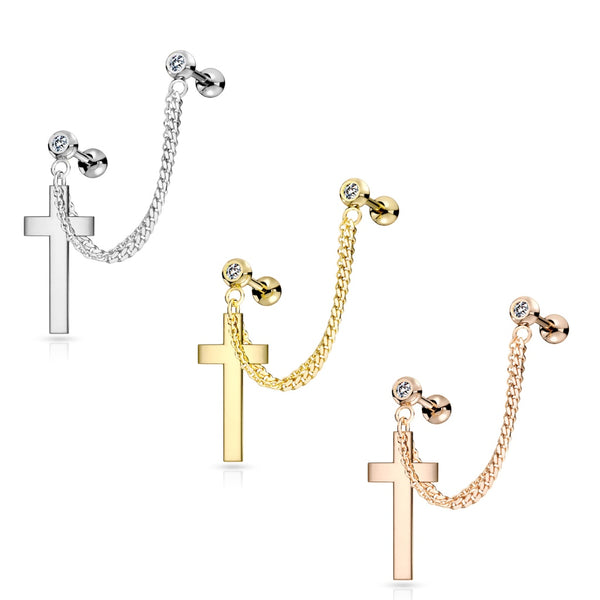 Double Chain Linked Cross Cartilage Ring