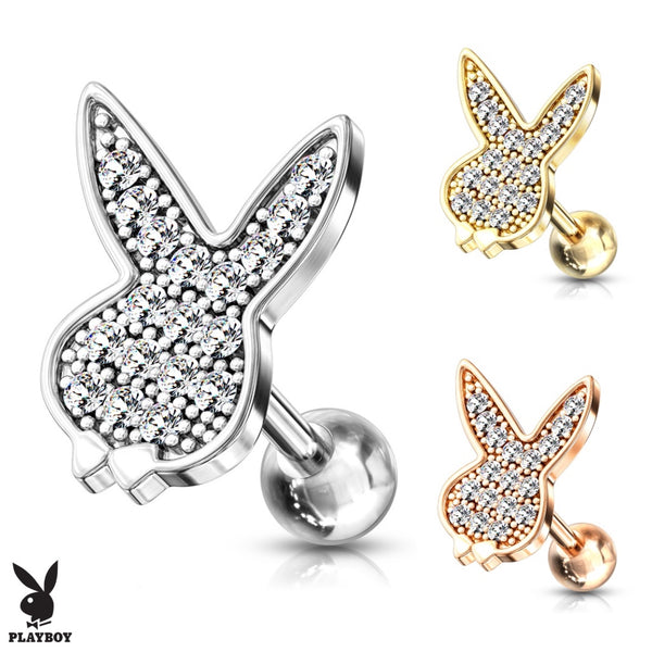 Playboy Bunny Cartilage Ring