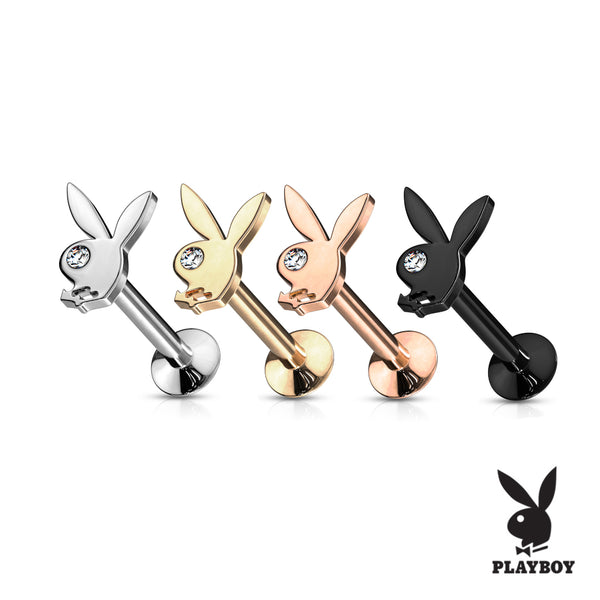 Playboy Bunny Top Lip Ring