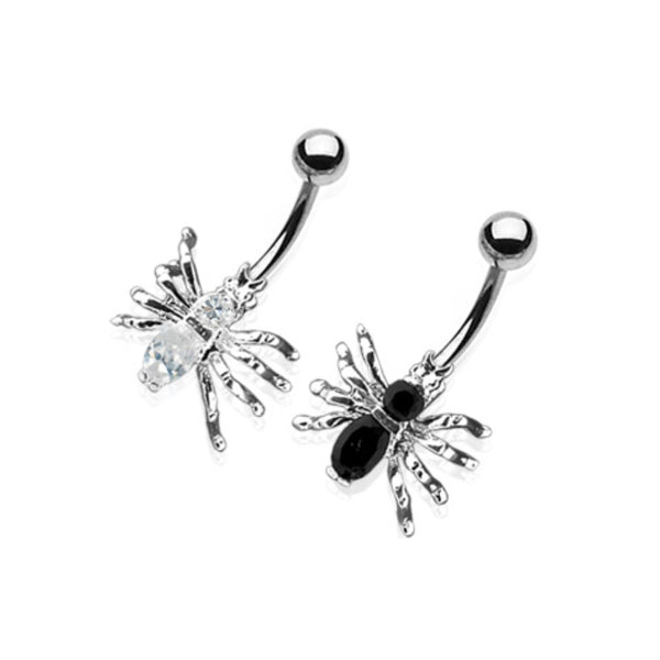 Spider Non-Dangle Belly Ring