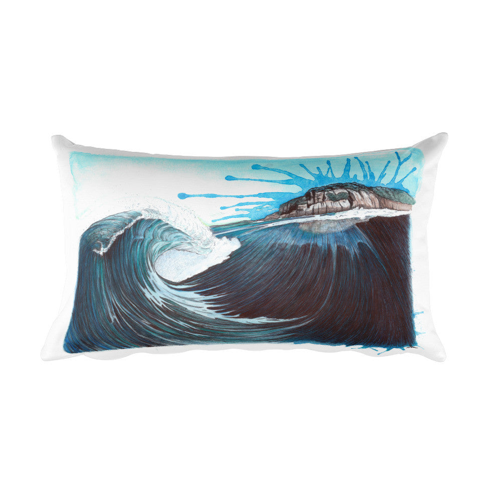 Island View Rectangular Pillow