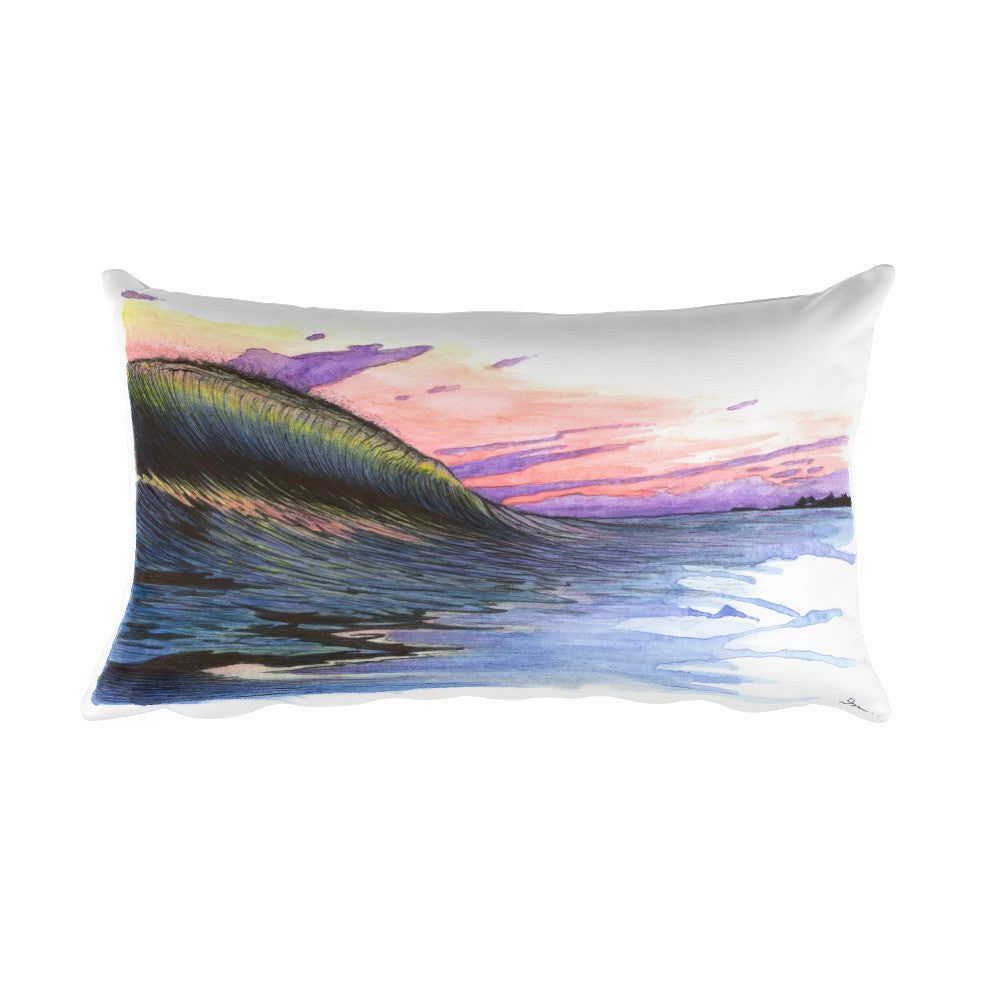 Backlit Rectangular Pillow