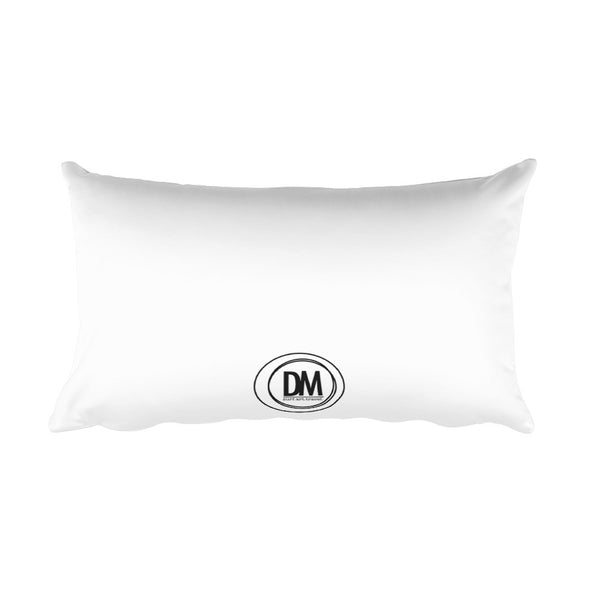 Golden Rectangular Pillow