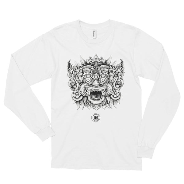 Balinese Mask  //  Long sleeve t-shirt (unisex)