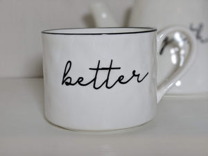 Always Better Together Teapot and Mug Set