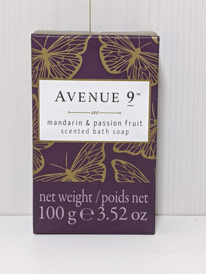 Avenue 9 Scented Bath Soap-Mandarin and Passion Fruit
