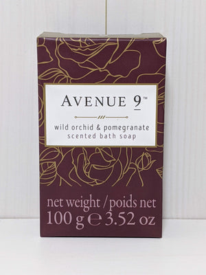 Avenue 9 Scented Bath Soap-Wild Orchid and Pomegranate