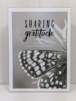 Boxed Note Cards-Sharing Gratitude