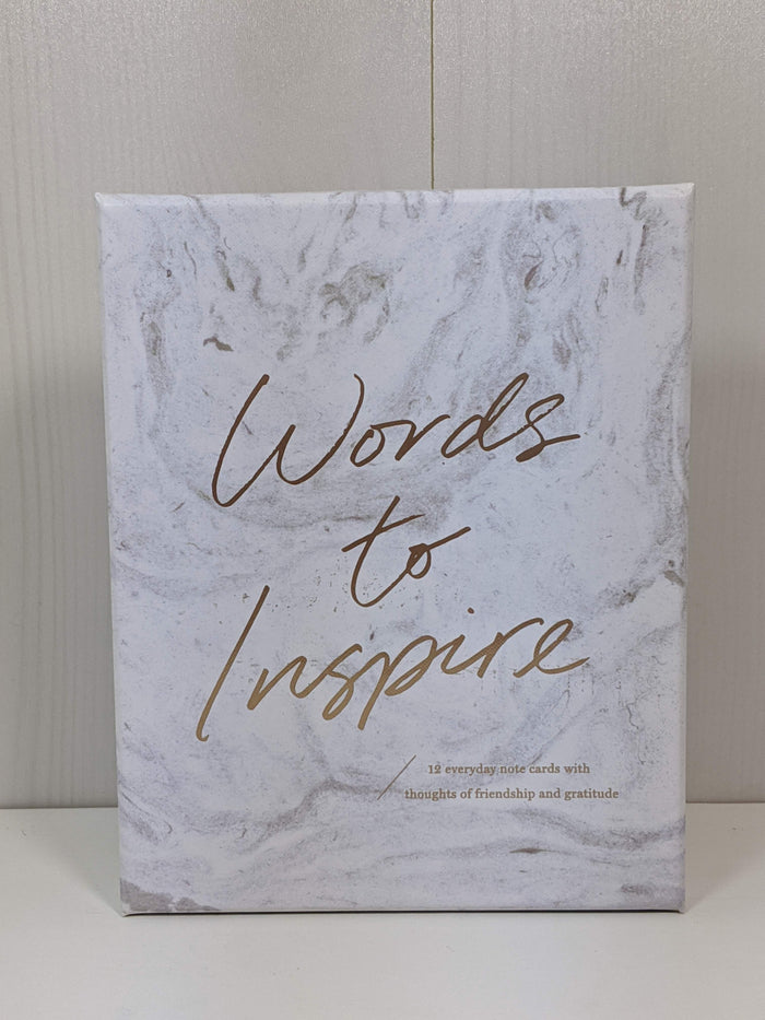 Boxed Note Cards-Words to Inspire